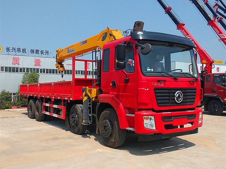 东风锦程前四后八徐工G型14吨随车吊展示B