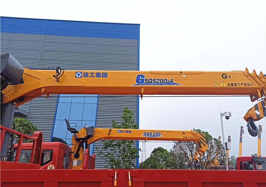 东风世技卡特牌 6.1米 徐工8吨随车吊图片图片展示C