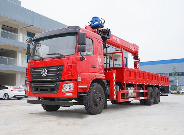 东风华神F5 后八轮 270马力 程力12吨随车吊