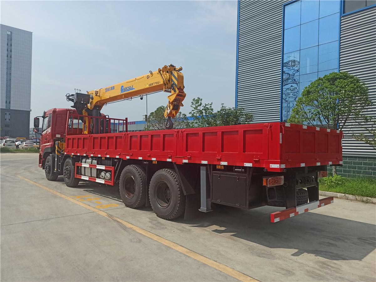 东风畅行D7V前四后八徐工14吨5节臂随车吊图片图片展示D