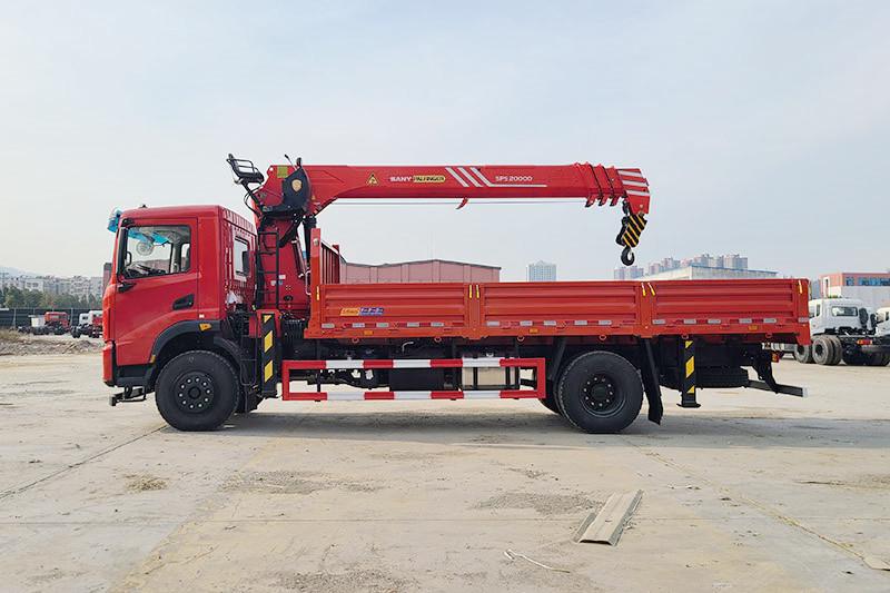 东风华神DV5 6米1 三一8吨随车吊图片图片展示C