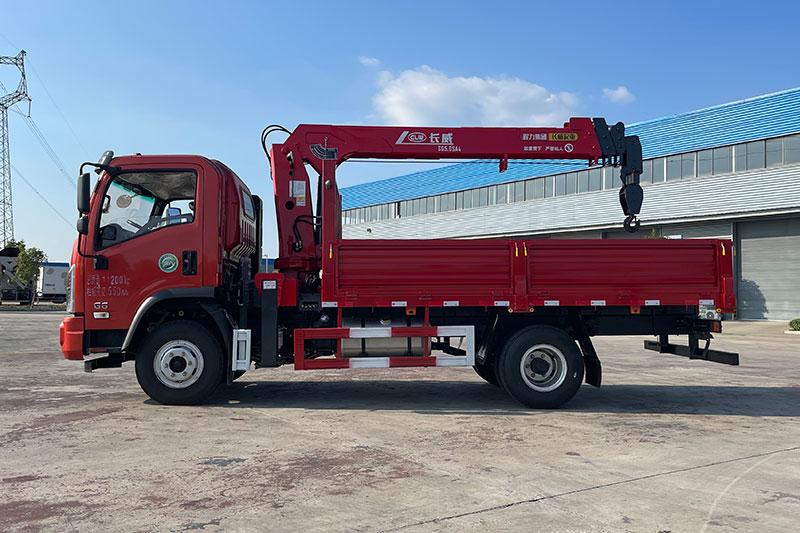 大运G6 165马力 4米2车厢 程力5吨4节臂随车吊展示C