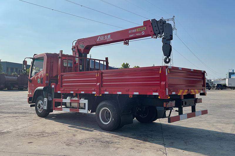 大运G6 165马力 4米2车厢 程力5吨4节臂随车吊展示D