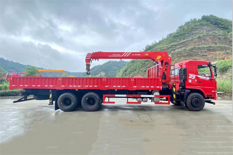 东风畅行D3V 后八轮 270马力 三一12吨随车吊展示C