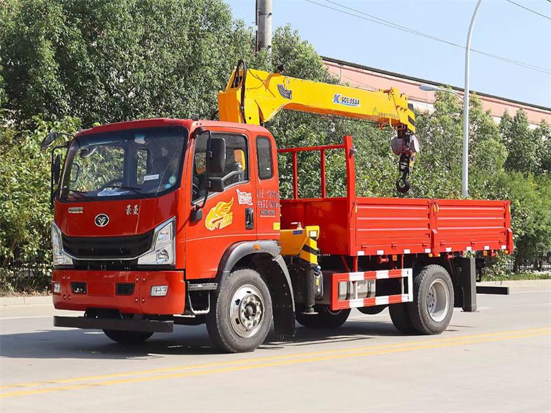 重汽豪曼 国六190马力 程力牌6.3吨随车吊