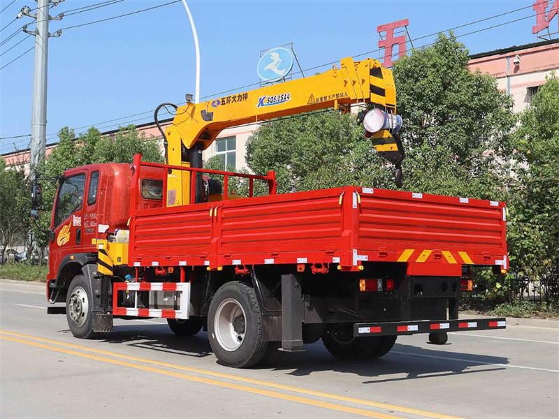 重汽豪曼 国六190马力 程力牌6.3吨随车吊展示D