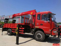 新莆京8吨随车吊带平板运输车价格¥33.5万元