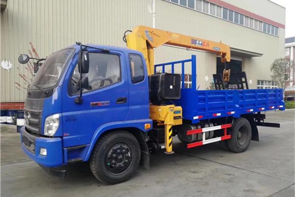 福田石煤5吨随车吊实拍图片