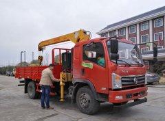 厂家揭秘,新莆京特商5吨随车吊多少钱一辆?