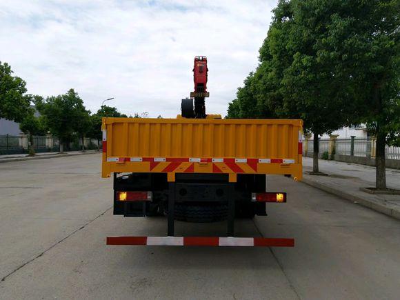 三环昊龙小三轴12吨随车吊发车图片