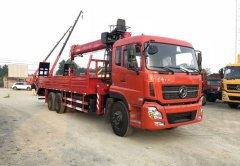 厂家直销,新莆京天龙后八轮带爬梯的12吨随车吊价格¥45.9万