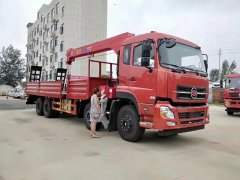 中国一拖集团福德牌14吨随车吊
