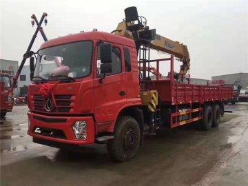 河南洛阳翟老板订购东风D3后八轮徐工12吨随车吊