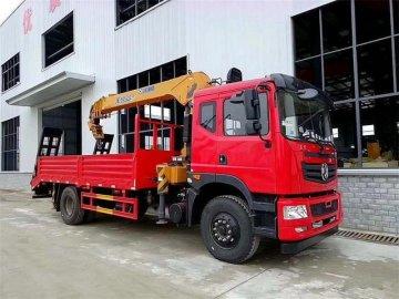 新莆京T5随车吊,徐工8吨吊机,货箱带爬梯