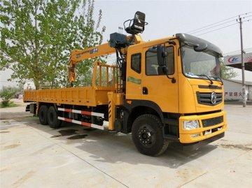 新莆京T5后八轮石煤12吨随车吊