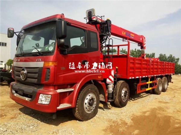 福田欧曼长兴12吨随车吊图片