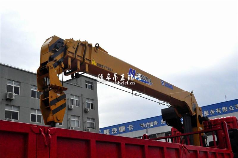 徐工12吨SQS300-4吊机外观
