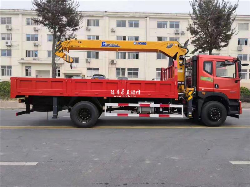 徐工G型8吨吊机外观