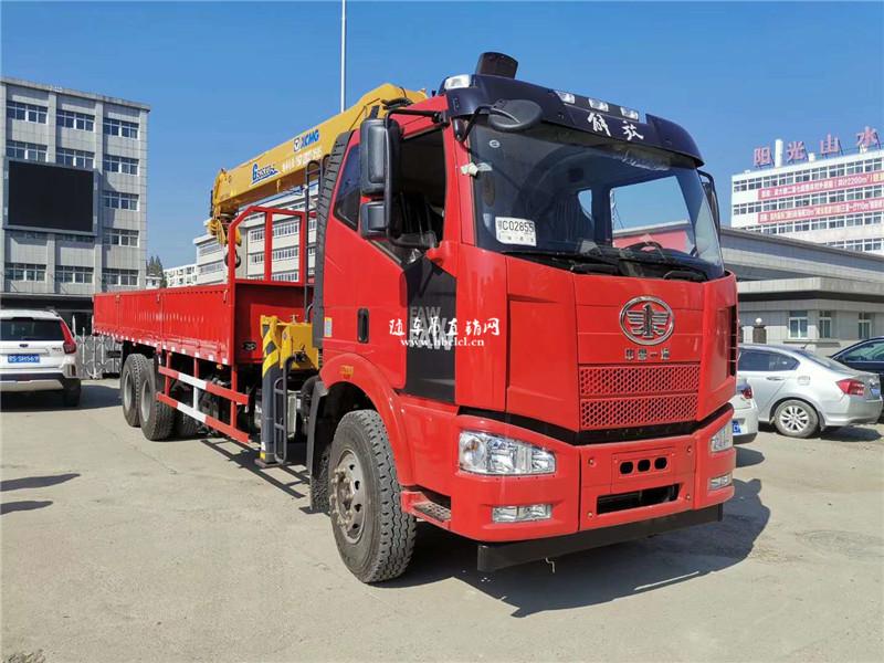 解放J6徐工G型12吨随车吊图片