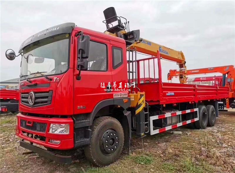 东风T5后八轮徐工G型12吨随车吊