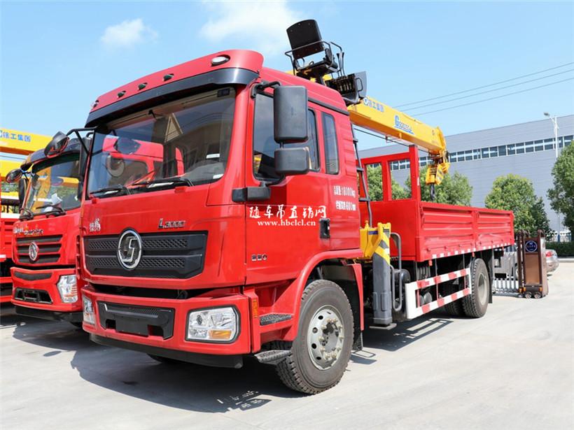 陕汽德龙L3000徐工G型10吨随车吊