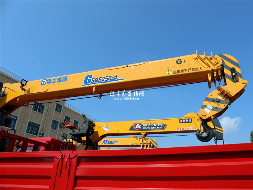 徐工G型10吨吊机大臂外观