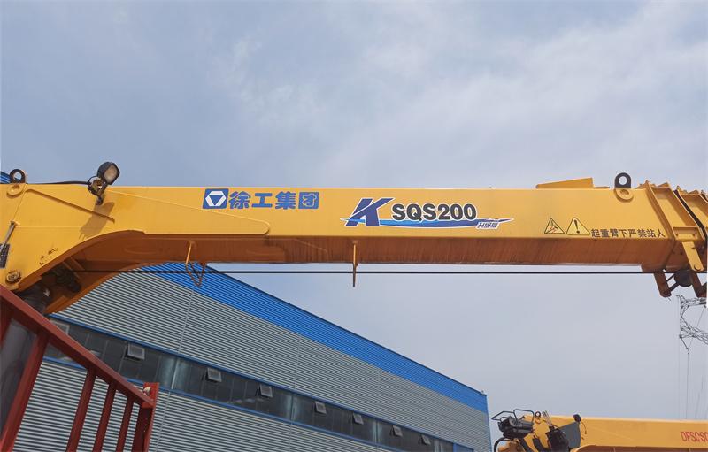 徐工8吨K型SQS200-4随车吊